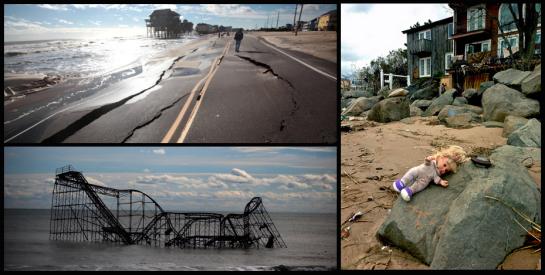 sandy.collage