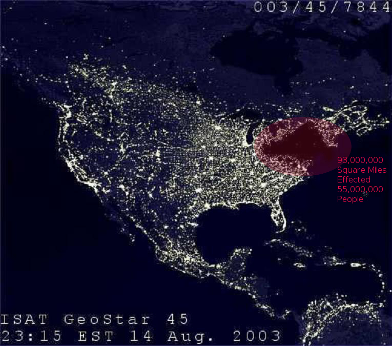 Earth stopped in orbit for 9 years the how and why theblackout 8 14 03 notated gumiabroncs Images