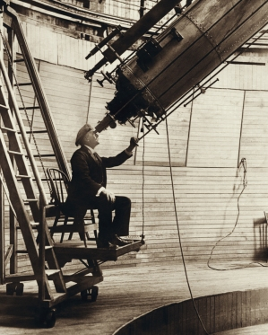 Percival.Lowell-clark.telescope