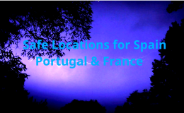 Safe Location Video for Spain, Portugal and France